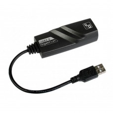 Adaptor Placa Retea USB 3.0 Active, internet 10/100/1000M, Gigabit Ethernet 1Gb, negru