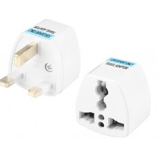 Power socket adapter Romania Europa EU/US/AU to UK, ACTIVE, 13A, Great Quality