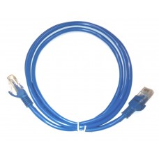Network cable ACTIVE, 1M, UTP cat 5e, blue, plugged 2 x RJ45