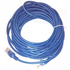 Network cable ACTIVE, 8M, UTP cat 5e, blue, plugged 2 x RJ45