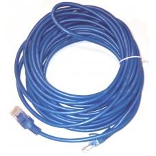 Cablu retea ACTIVE, 8M, UTP cat 5e, albastru, mufat 2 x rj45