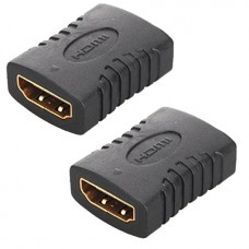 Adaptor / Mufa de prelungire cablu HDMI,  Active, mama-mama, prelungitor hdmi, negru
