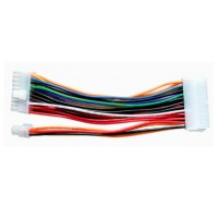 Cablu prelungitor sursa de la ATX 24 pini tata la BTX 20+4 pini mama, 20 CM, pentru alimentare placa baza, adaptor