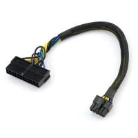 Cablu adaptor sursa alimentare de la ATX 24 pin la 10 pini, Active, 30 CM, compatibil IBM Lenovo