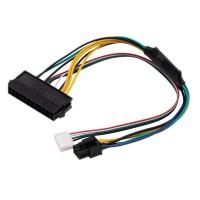 Cablu adaptor sursa alimentare de la ATX 24 pin la 2 x 6 pin, Active, 30 CM, compatibil HP Z220, Z230