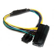 Cablu adaptor sursa alimentare de la ATX 24 pin la 8 pini, Active, 30 CM, compatibil Dell 3020, 7020, 9020, 8pini