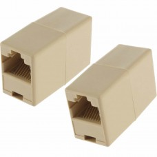 Adapter / Network Extension Plug UTP / FTP / RJ45 , Active, femele