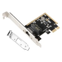Placa Retea Gigabit Ethernet, Active TXA065, internet 10/100/1000M, PCI-e, 1Gb, low profile, bracket optional, chip rtl8111h