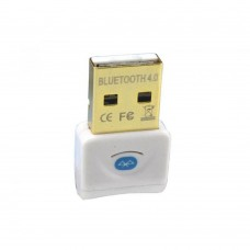 Adaptor USB Bluetooth Active, v4.0, Alb/Negru