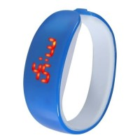 Ceas LED Active Dolphin, Digital, unisex, rezistent la contactul cu apa, diverse culori