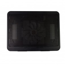 "Stand racire laptop 15.6"", Active, ventilator cooler luminat 120mm, silentios, alimentare usb, model slim"