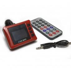 Modulator FM cu Telecomanda, Active, ecran LCD mare, slot usb si micro-SD, functie mp3