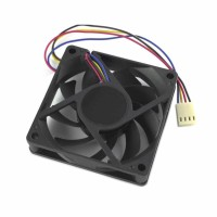 Fan Case / CPU 12V, 70mm, 4 pin, 3000RPM, AMD compatible, black
