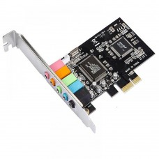 Placa Sunet 5.1 Active VT1723, pci-express audio