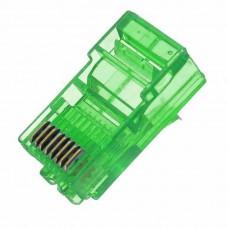Set 10 mufe retea colorate Active, RJ45, UTP, mufa 8 contacte aurite, cat.5, ambalaj individual, calitate deosebita