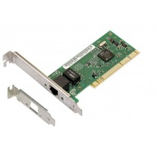 PCI Gigabit Ethernet Network Adapter, Intel PRO 1000, Active 10/100 / 1000M, 1Gb, low profile bracket included