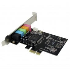 PLACA SUNET 5.1 PCI-EXPRESS ACTIVE, CHIPSET CMI8738, PCIE1 A