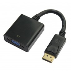 Adaptor DisplayPort (DP) tata - VGA Mama, Active, suporta rezolutie full HD